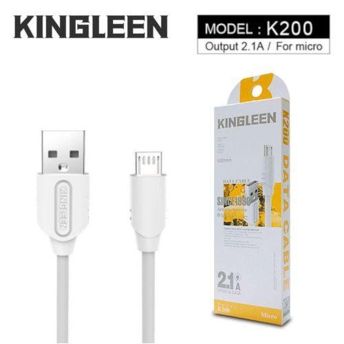 Cable Micro USB KINGLEEN K200 2.1A