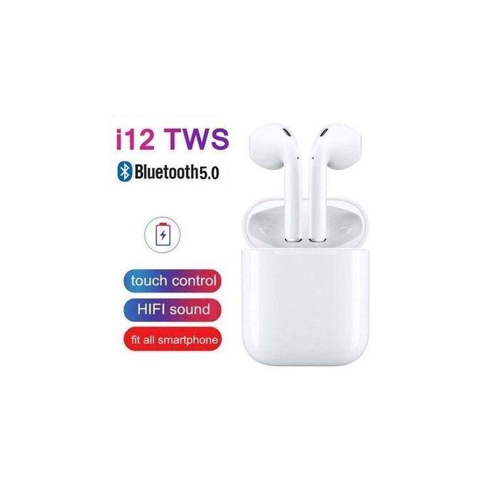 Ecouteurs Bluetooth i12 sans fil